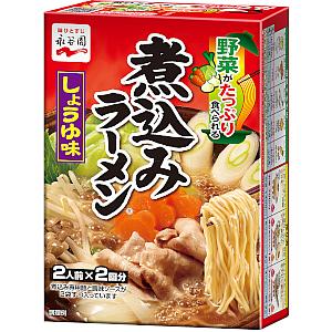 煮込みラーメン しょうゆ味|商品情報|永谷園